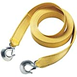 """Master Lock 3175AT 25' X 2"""" Tow Strap with Forged Hooks and Clips, 10000 lbs Break Strength/3333 lbs Working Load Limit"""