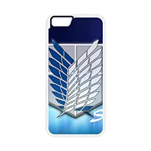 Attack On Titan For iPhone 6 Plus Screen 5.5 Inch Csae protection Case DH556577