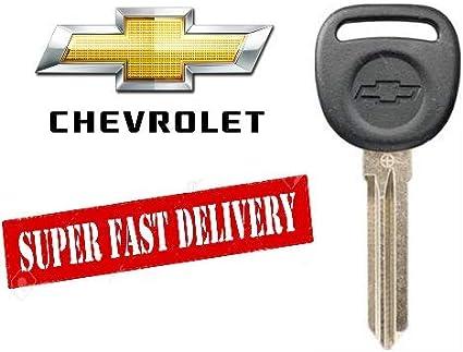 Car Transponder Chip Key For 2006 2007 2008 2009 Chevrolet Chevy Impala