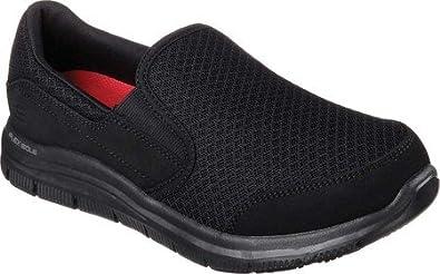 detailed look competitive price best service Skechers for Work Women's Gozard Slip Resistant Walking Shoe Black