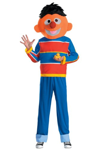 Ernie Adult Costume - X-Large