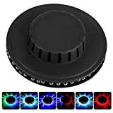 Jadeshay 5W 48Led Sunflower Rotating RGB Stage Light Strip, Dj Disco Ball Bar Wall Lamp, Colorful Lighting Stage Wall Lamp