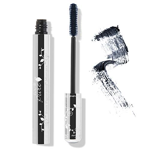 (100% PURE Fruit Pigmented Ultra Lengthening Mascara, Blueberry, 0.35oz, Blue Mascara for Natural Lash Extension, Long-lasting, Smudge-Proof, Clump-Free Lengthening - Blue)