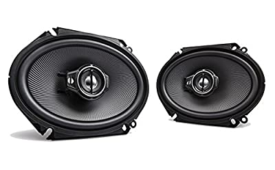 """Kenwood KFC-C6895PS 6x8"""" Oval Coaxial Speaker Pair by KENWOOD"""