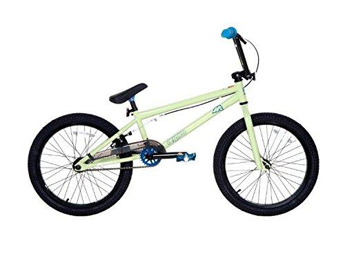 Dave Mirra Boys 8110-04T 20-Inch Respiro/Mirraco Bike, Soft Light Green/Black/Blue