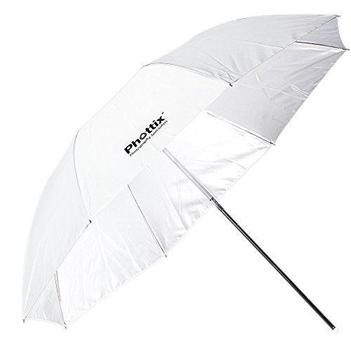 Price comparison product image Phottix Double Small Folding White Shoot Through Umbrella 94cm (PH85361)