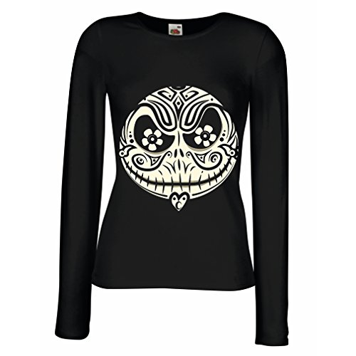 T Shirt Women The Skull Face -The Nightmare