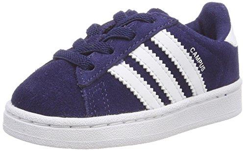Unisex White Blue Da Scarpe Adidas Ginnastica 0 24 Bimbi Basse dark El footwear Blu Campus 6fpqwAY