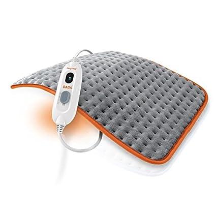 Daga Almohadilla eléctrica Flexy-Heat Colors 2, Gris y Naranja, 45X35