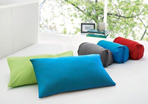 Reisekissen Wiebke - Viskoelastisches Kissen mit Tasche, Farbauswahl verfügbar, Farbe:türkis/turquoise