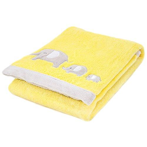 Cozy Fleece Blanket Yellow Elephant product image