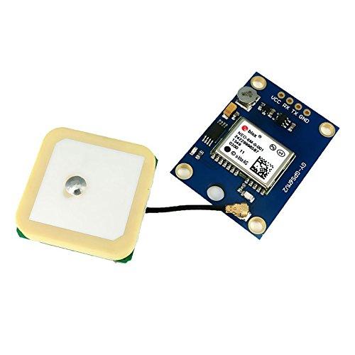 SODIAL(R) 3V-5V power model NEO-6M GPS module GY-GPS6MV2 (Blue) 070350