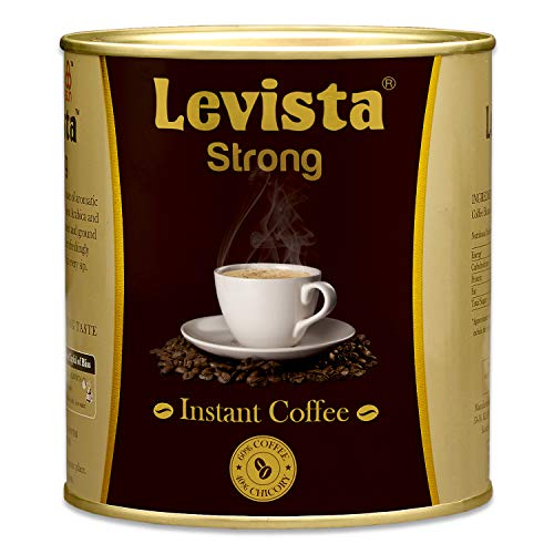Levista Strong Instant Coffee (Can) (200 Grams)