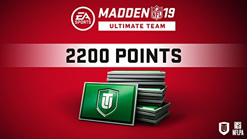 Madden 19 2200 Ultimate Team Points [Online Game Code]
