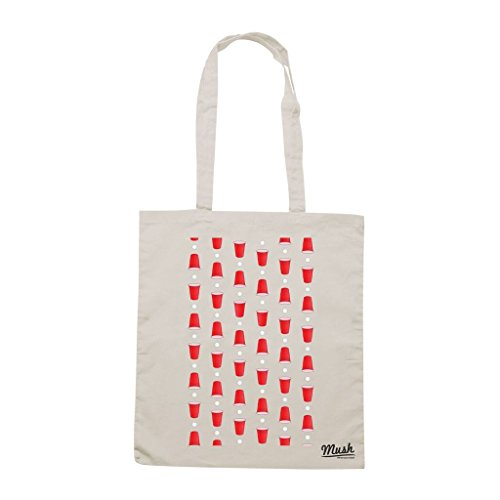Borsa Beer Pong Birra - Panna - Games by Mush Dress Your Style