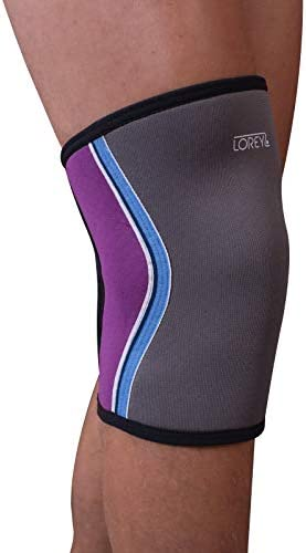 Hochwertige Kniebandage, Kniestütze aus hochelastischem offenporigen Neopren (L)