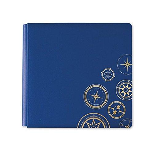 12x12 Gallivant Travel Dark Blue Album Bookcloth Cover by Creative Memories