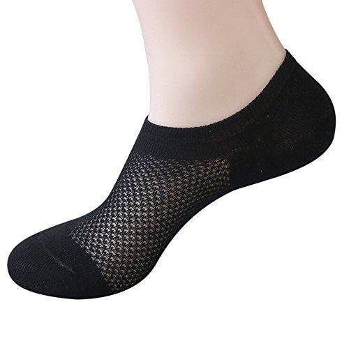 (Birdfly Women Web Breezy Style Short Glass Silk Ankle-Length Socks (39-43cm,)