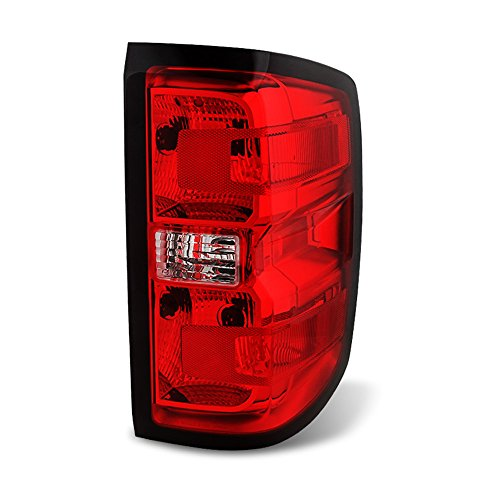 ACANII - For Chevy Silverado 1500 2500HD 3500HD Tail Light Brake Lamp Replacement - Passenger Side Only