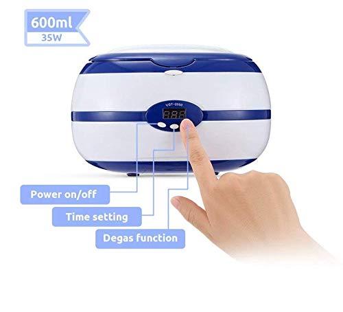Amazon.com: WANGYONGQI 600 ml Limpiador ultrasónico 35 W ...