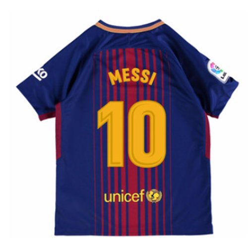Nike Youth Barcelona Home 2017/18 #10 Messi Jersey, Youth Large