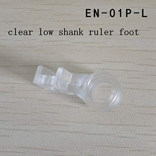 Clear Ruler Foot Frame Quilting Embroidery Low Shank For Singer Viking Brothers