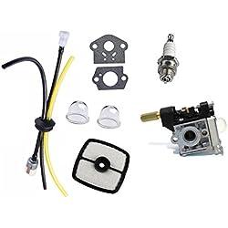 Annpee RB-K75 Carburetor & Fuel Maintenance Kit For for ECHO SRM-210 SRM-210i SRM-210SB SRM-210U SRM-211 Trimmer / Brushcutter
