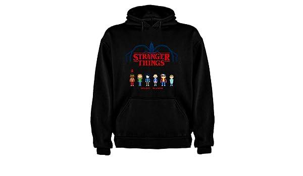 Sudadera de NIÑOS Stranger Things Serie Retro TV 80 5-6 Años: Amazon.es: Ropa y accesorios