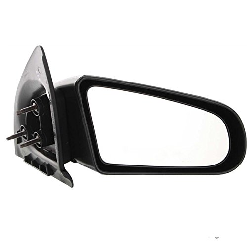 [1991-1996 Saturn S Series (SC, SC1, SC2) 2-Door Coupe Manual Black paint to match Fixed Non-Folding Rear View Mirror Right Passenger Side (1991 91 1992 92 1993 93 1994 94 1995 95 1996 96)] (1991 Saturn S Series)