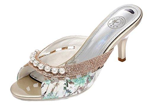 perfectaz-women-fashion-elegant-peep-toe-pearls-decorated-kitten-heel-pump-sandals55-bm-us-green