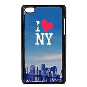 Custom NYC Back Cover Case for ipod Touch 4JNIPOD4-147 Kimberly Kurzendoerfer