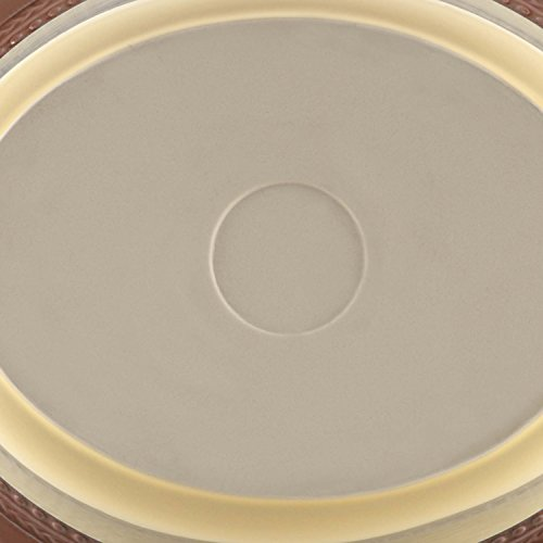 Paula Deen Signature Dinnerware Southern Gathering 9-Inch by 5-Inch Stoneware Oval Baker, Chestnut