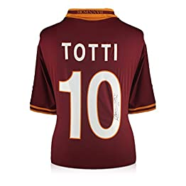 Chemise Exclusive de Francesco Totti signée AS Roma 2013-2014