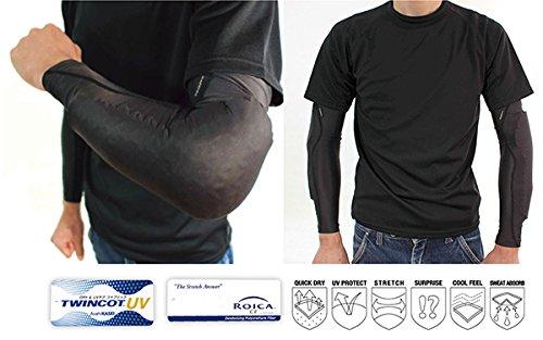Kadoya protector SSPD / ELBOW GUARD black LL / 3L No.7651