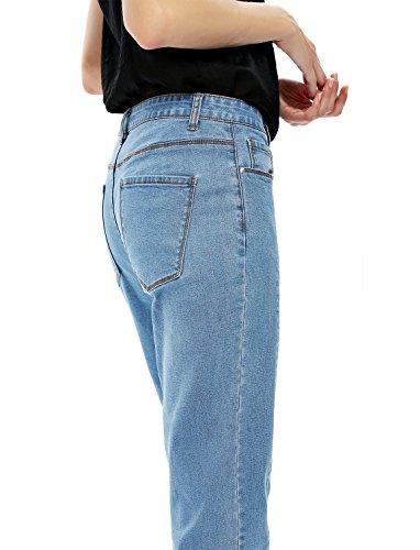 Pantalon Jean Bleu Sexy Collant Femme ZAN Elgant Leggings Slim Et Casual STYLE Sexy Denim Boyfriend Crayon Coton Vintage Amincissant SxUqO5w