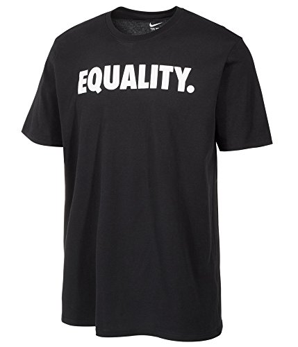 NIKE Men's Equality Equals Everywhere Graphic T-Shirt-Black-Large