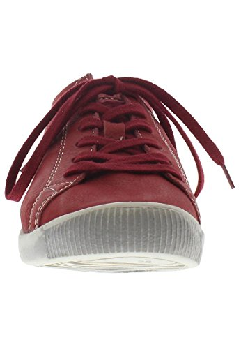 Softinos Damen Isla Sneakers Rood