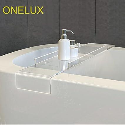 Amazon.com: ONELUX (2PCS/LOT) Durable Thick Clear Acrylic bathtub ...