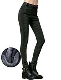 CUNLIN Vintage Sexy High Waist Jeans Mom Jeans Denim Boyfriend Jeans for Women
