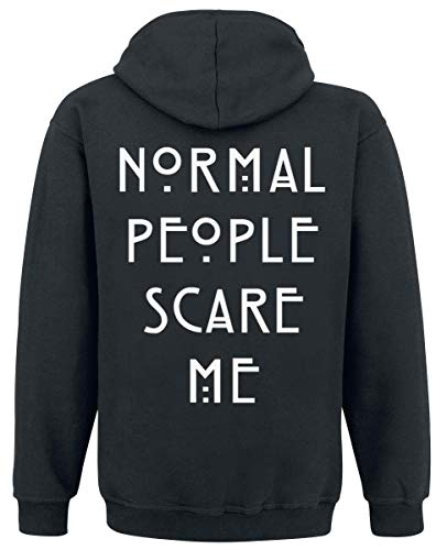 À shirt Story Horror People Capuche Noir Normal American Sweat Zippé XqZgp0UwU