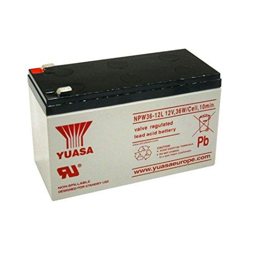 Yuasa NPW36-12 accu, accu, 12 V loodaccu voor UV, motorfiets, 7,2 Ah nieuw, lezen