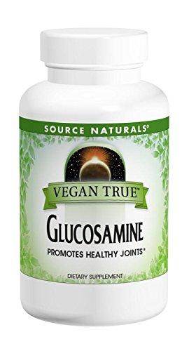 SOURCE NATURALS Vegan True Glucosamine 750 Mg Tablet, 60 Count (Glucosamine Regenasure)