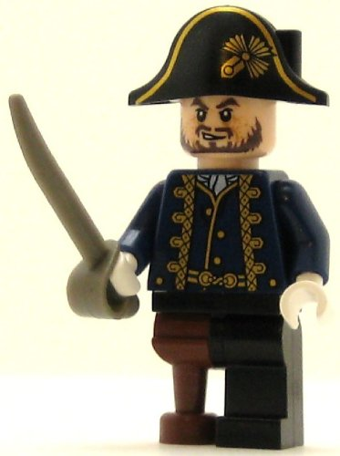 LEGO Pirates of the Caribbean Minifig Hector Barbossa with Pegleg -