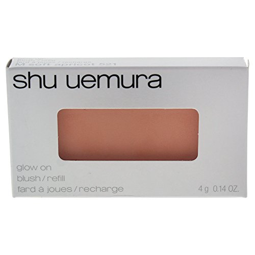 (Shu Uemura Glow On Blush for Women, Soft Apricot (refill), 0.14 Ounce)