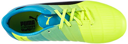01 Puma Yellow 3 Mixte safety Enfant De Jr black Football Fg Chaussures 3 atomic Compétition Gelb Evopower Blue x1qwSfT