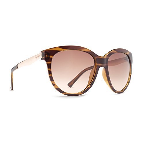 (Von Zipper Cheeks Tortoise Bronze Gradient Lens Sunglasses)