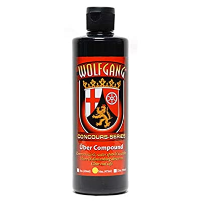 Wolfgang Concours Series WG-5601 Uber Compound 3.0, 16 fl. oz.: Automotive