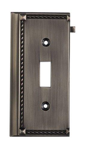 Elk 2507AP Antique Platinum End Switch (Clickplate Antique)