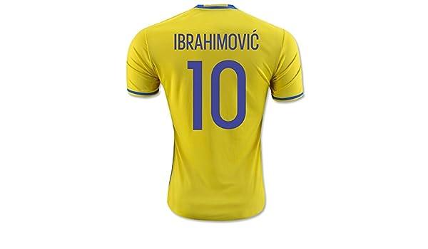 Desconocido 2016 2017 Suecia 10 Zlatan Ibrahimovic Home ...