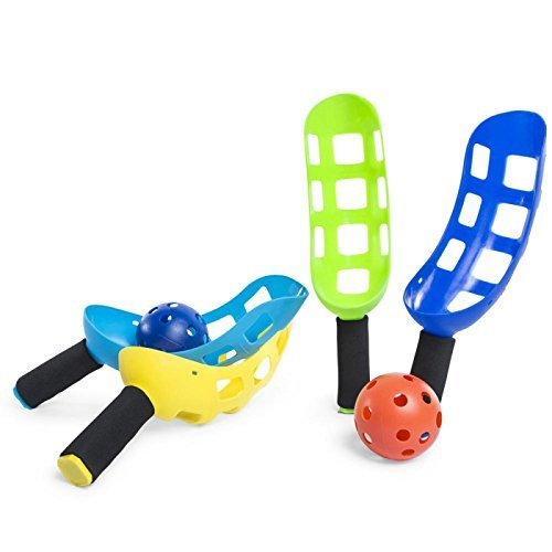 Whamo Wham-o Fun Air Scoop Ball Lacrosse With Toss Catch Game Summer Run Sports